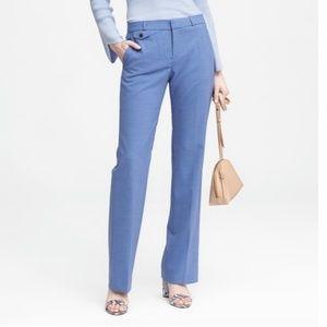 Banana Republic Logan Dress Pant Wool Blue